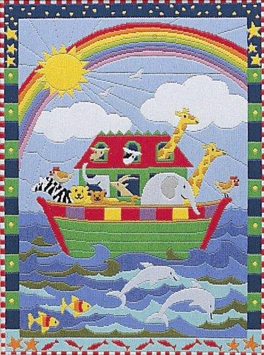Anchor - Kit de Punto de Cruz, diseño del Arca de Noé