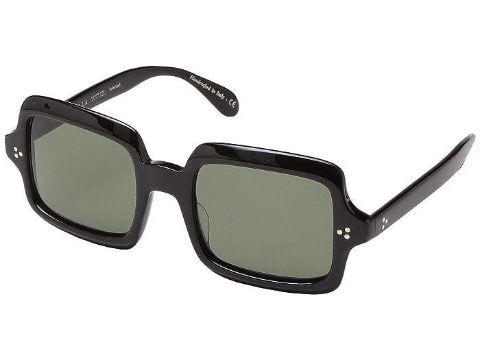 Oliver Peoples Avri (Black) Fashion Sunglasses