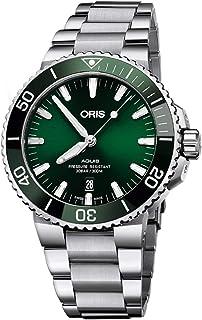 Oris Aquis Date Green Dial 43.5mm Steel Men`s Watch - Reference: 01 733 7730 4157-07 8 24 05PEB