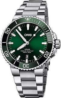 Oris Aquis Date Green Dial 43.5mm Steel Men's Watch - Reference: 01 733 7730 4157-07 8 24 05PEB