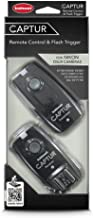Hahnel HL -CAPTUR N Captur Remote Camera/Flash Trigger, Transmitter/Receiver for Nikon, Black