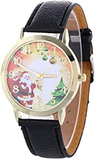 Christmas Pattern Analog Quartz Vogue Watches