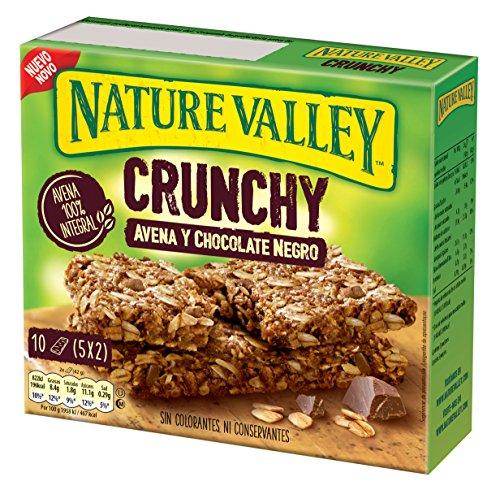 Nature Valley - Barritas de Avena y Chocolate Negro - Caja de 5 unidades