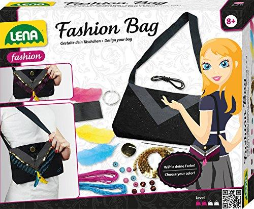 Lena 42584 Bastelset Fashion Bag, Handtäschchen selbst gestalten