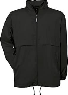 B&C Air Windbreaker Jacket : Color - Black : Size - XL