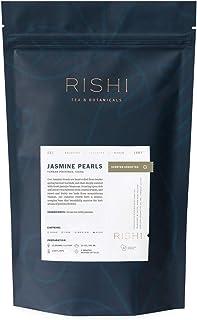 Rishi Tea Jasmine Pearl Green Loose Leaf Herbal Tea | Immune & Heart Support, Organic, Kosher, Fair Trade Green Tea, Caffe...