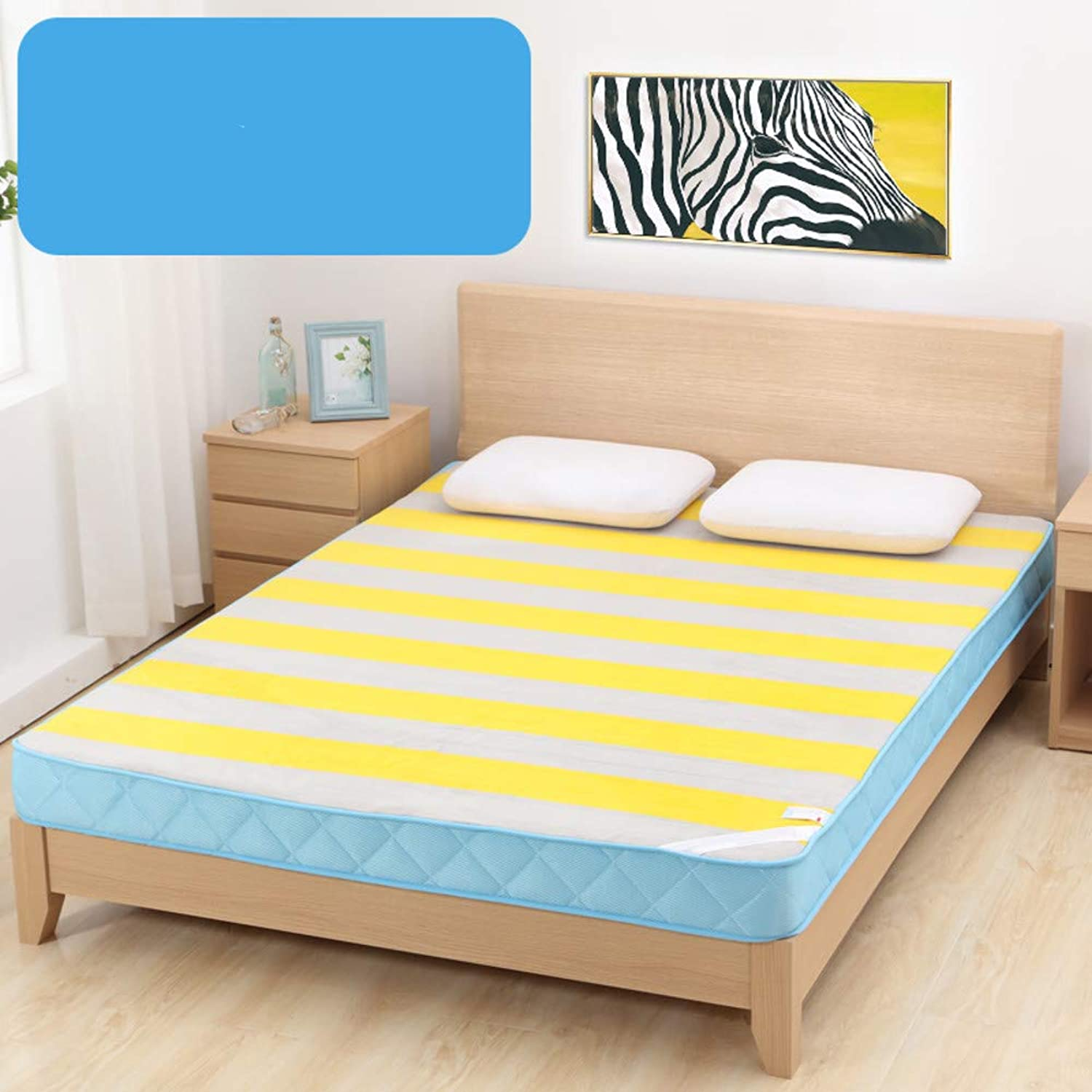 Student Dormitory Tatami Cushion,Tatami Mattress,Cushion,Padded Single Comfortable Multi-Function Floor Breathable-b 90x190cm(35x75inch)