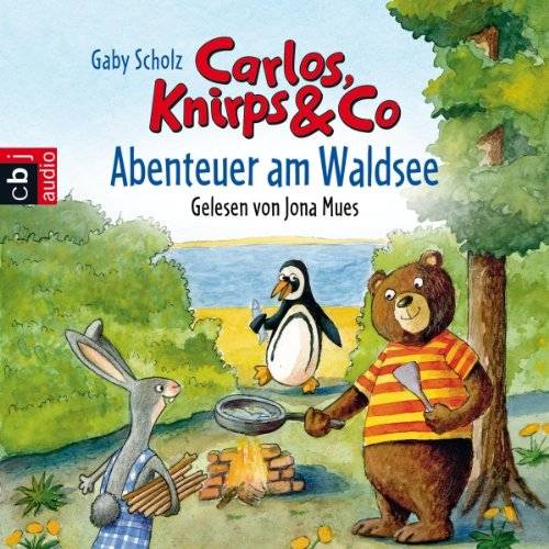 Abenteuer am Waldsee (Carlos, Knirps & Co. 1) audiobook cover art