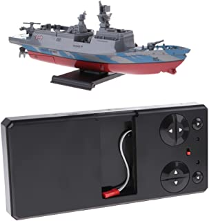 HOMYL RC Boat, Remote Control Frigate Boat (Only Works in Water)
