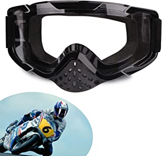 XYOP Motorcycle Goggles ATV Goggles Motocross Bendable OTG Goggles Windproof Racing Goggles Off Road Goggles Nose Guard Wrap Ski Goggles Dustproof Over Glassess