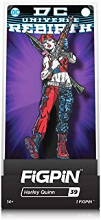 FiGPiN DC Comics Rebirth: Harley Quinn - Collectible Pin with Premium Display Case