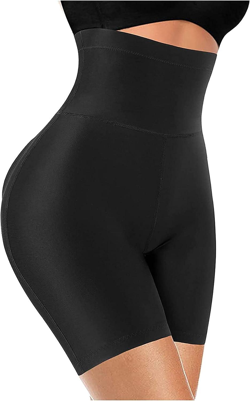 LODAY High Waisted Butt Lifter Padded Panties for Women Seamless Tummy Control Waist Trainer Shapewear Enhancer