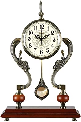 Reloj de Mesa Digital Estilo Europeo Latón Reloj de la Sala ...