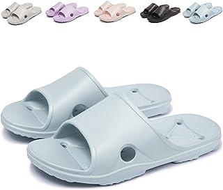Zapatillas de Ducha para Mujer Zapatillas Antideslizantes para Piscina y Baño Sandalias de Playa Transpirables de Verano para Unisex 36-45