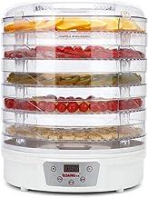 Máquina de conservación de alimentos para el hogar Deshidratador de alimentos, eléctrico Pantalla táctil inteligente Silencio Placa de cristal de plástico de 5 capas Deshidratación comercial deshidrat