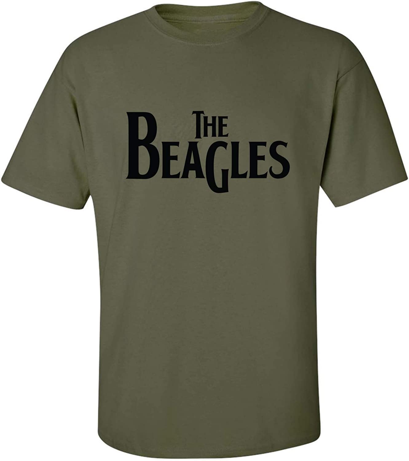 The Beagles Adult T-Shirt in Military Green - XXXX-Large
