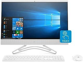 HP All-in-One 24-f0002ne Desktop, Intel Core i7-8700K, 24 Inch, 1TB, 8GB RAM, NVIDIA GeForce GTX 1080 (8 GB GDDR5), Win 10, Eng-Ara KB, Snow White