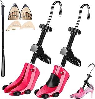JJDPARTS Coppia di barelle per scarpe Espansore per scarpe a 4 vie Estensore per albero per scarpe per piedi larghi