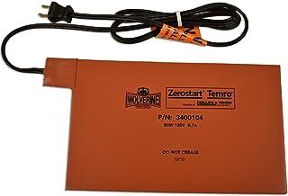 "Zerostart 3400104 Silicone Pad Battery Heater, 6½"" x 10½""   120 Volts   80 Watts"