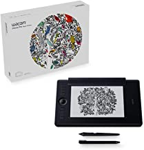 Wacom PTH660P Intuos Pro Paper Edition Digital Graphic Drawing Tablet for Mac or PC, Medium, New Model