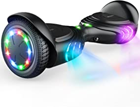 """TOMOLOO Hoverboard with Bluetooth Speaker UL2272 Certified Self Balancing Electric Scooter 6.5"""" Two-Wheel Hover Boards wit..."""