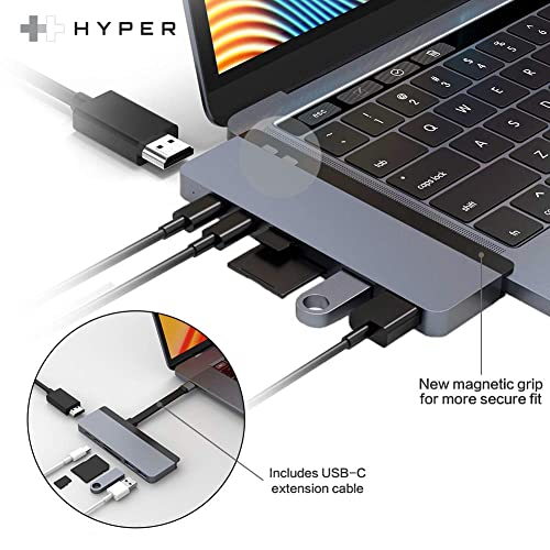 USB-C To 4K HDMI USB 3.0 TF SD Card Reader HyperDrive For New MacBook Pro 13 15