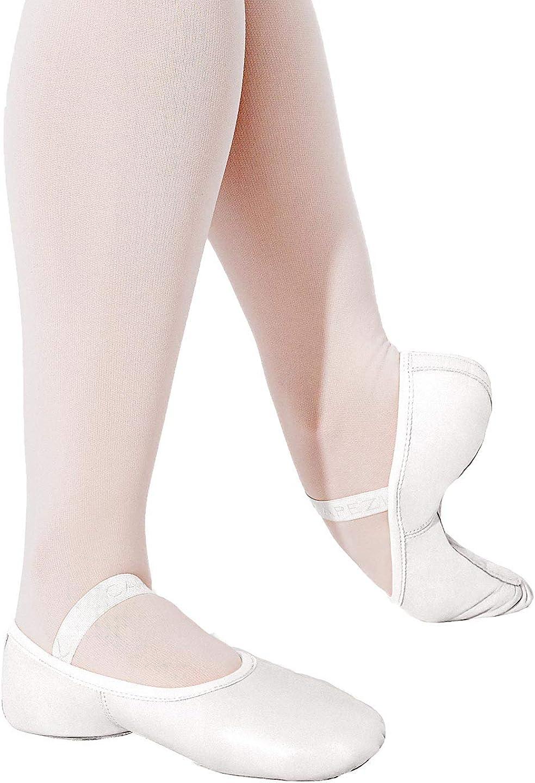Capezio Lily Ballet Shoe - Size 4.5W, White