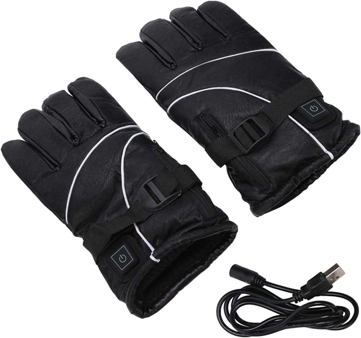 BESPORTBLE Heated Gloves Winter Heating Gloves Electric Arthritis Hand Warmer Warm Electric USB Mittens Outside Sport Warm Gloves for Woman Man Winter Outside Anti Slip Gloves