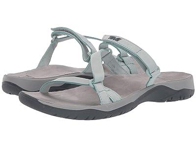 Teva Elzada Slide Lea (Gray Mist) Women