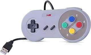 HDE Classic USB Gamepad Retro SNES Styled Controller for PC / Mac / Windows / Linux / Raspberry Pi