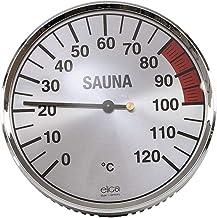 eliga Thermomètre Argenté 135 mm