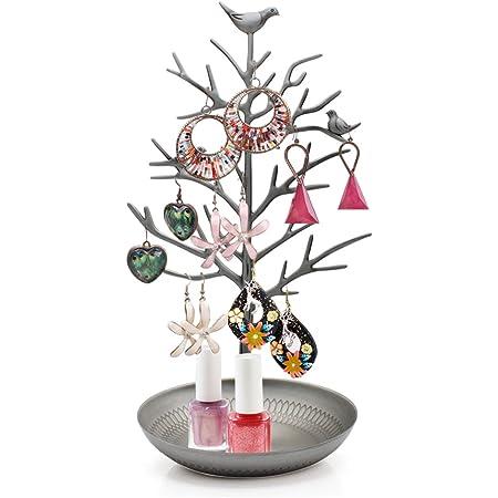 PROVO Pr/ésentoir doreilles collier Branche dArbre boucles support de pr/ésentation Arbre /à bijoux porte-bijoux en forme d/'arbre