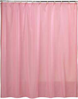 Carnation Home Fashions Fabric Shower Curtain Liner 70 Inch By 72