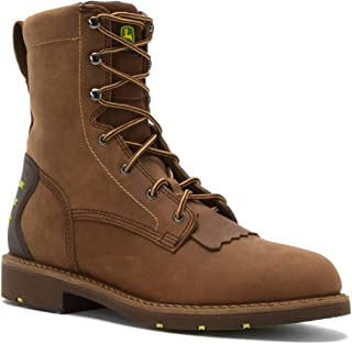 John Deere Men's 8-Inch Lace-Up EH