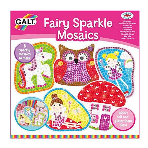 Galt Toys, Fairy Sparkle Mosaik, barns hantverkskit, åldrarna 5 år plus