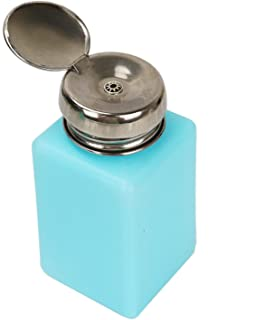 JETEHO 2 pcs 200ml Push Down Dispenser Pump Bottle Methanol Container