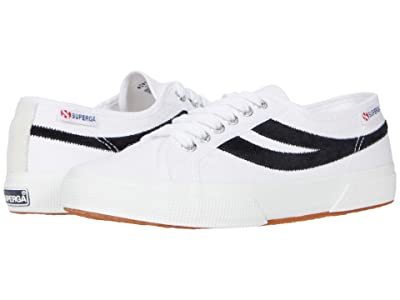 Superga 2953 Swallow Tail (White/Black) Shoes