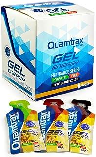 Quamtrax Nutrition Energy Gel, Sabor Lima Limón - 18 Unidades