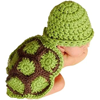 BLUETOP Crochet Baby Outfits Newborn Photography Prop Clothes Baby Costume Accessory