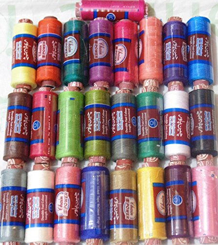 100/% Polyester sewing thread spool by J /& P COATS Cheap bargain Pack of 50 spool