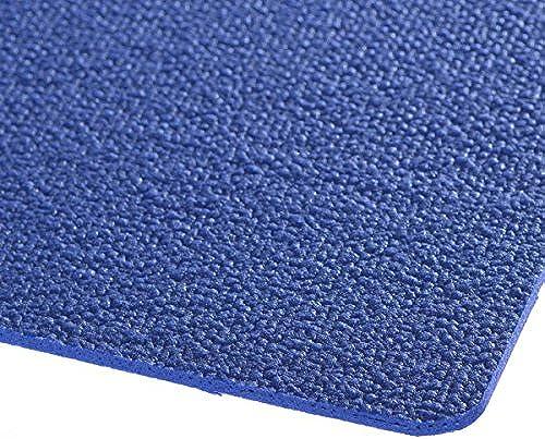 Krabbelmatte Krabbelunterlage   TEX 100 SanoSoft 120cm X 240cm Blau