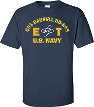 USS BAUSELL DD-845 Rate ET Electronics Technician T-Shirt