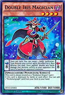 Double Iris Magician - PEVO-EN003 - Ultra Rare - 1st Edition - Pendulum Evolution (1st Edition)
