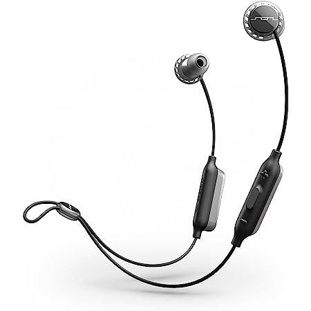 SOL REPUBLIC Relays Sport Water Resistant Wireless Bluetooth Headphones, Black