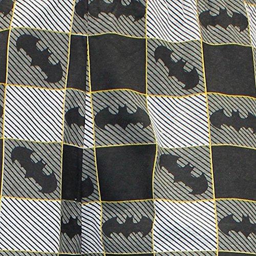 Batman Pantalones de Pijama para Hombre Gris X-Large