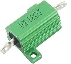 uxcell Green 10 Watt 2 Ohm 5% Aluminum Shell Wire Wound Resistor