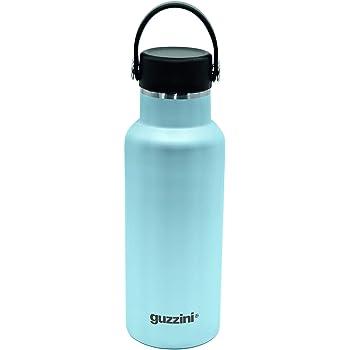 GUZ105 Guzzini 11825026 Bottiglia Termica Acciaio 500cc Verde Colore Celeste