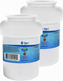 Tier1 Replacement for GE MWF SmartWater, MWFP, MWFA, GWF, GWFA, HWF, Kenmore 9991, 46-9991, 469991 Refrigerator Water Filter 2 Pack