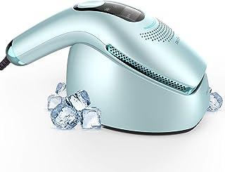 DEESS Sistema de Depilación por Luz Pulsada Intensa GP590,Depilación Permanente para Hombres y Mujeres de Uso en Casa con Cuidado de Enfriamiento,Pulsaciones de Luz Ilimitadas,Regalo:Filtro SR y AC