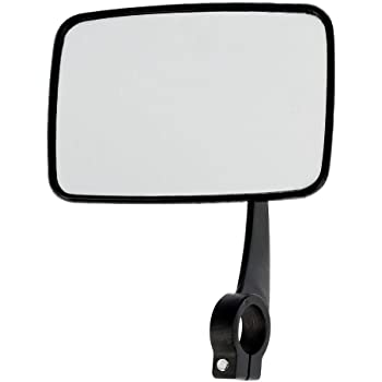 links 104 x 87mm FEZ Spiegelglas Niere-eckig